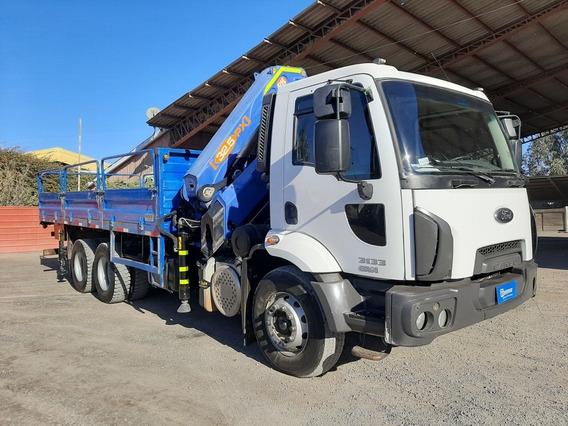 Camión Pluma Pm 32.5 Ford Cargo 3133 2016