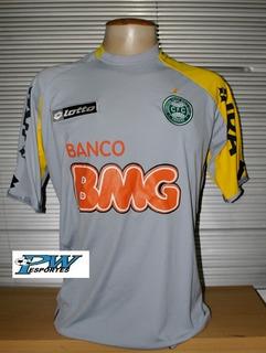 Camisa Coritiba Lotto Cinza De Goleiro 2008