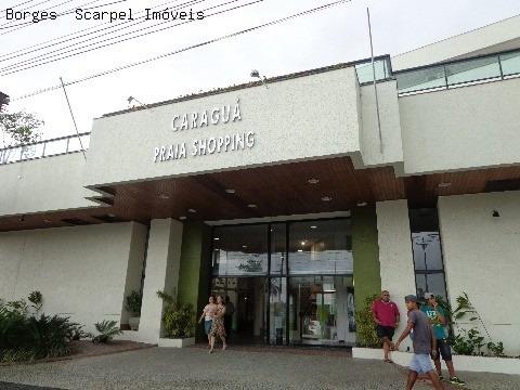 Loja Para Venda No 1° Piso Do Caraguá Praia Shopping No Centro Da Cidade De Frente Para Praia - Pc00014 - 2395186