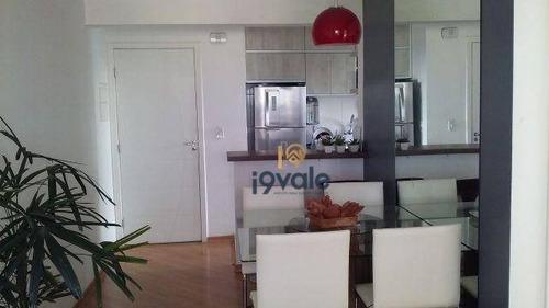 Apartamento Residencial À Venda, Jardim América, São José Dos Campos. - Ap0679