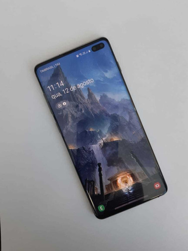 Samsung S10 Plus 1tb 12mr (intem De Coleção) Mais Brinde