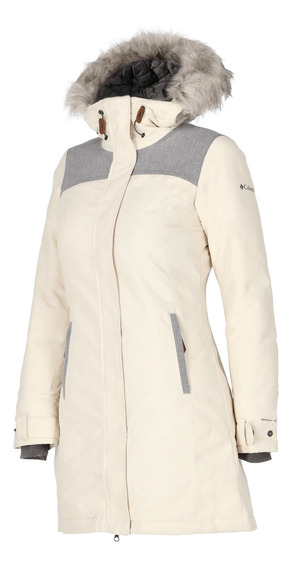 Parka Columbia Campismo Lindores Mujer Beige