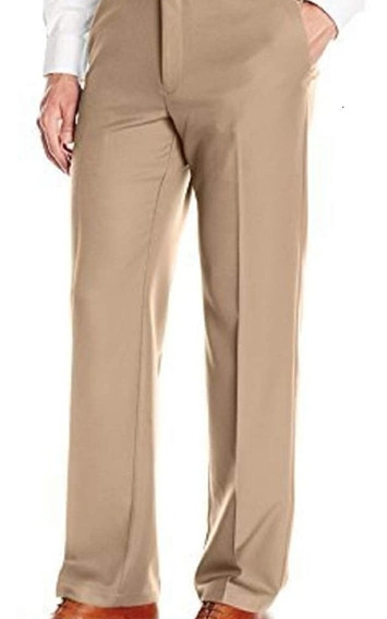 Pantalon Franela Cheviot Pura Lana Ysl Yves Saint Laurent