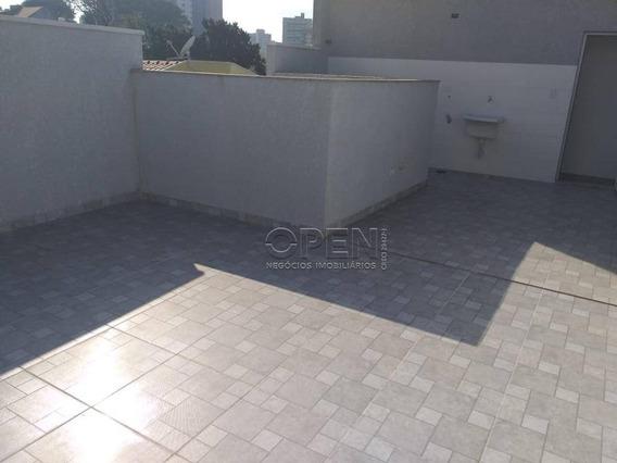 Cobertura Com 2 Dormitórios À Venda, 80 M² Por R$ 270.000 - Jardim - Santo André/sp - Co2034