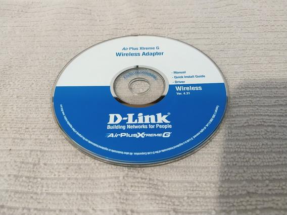 Cd -air Plus Xtreme G D-link G520/g650 - Wireless V4.31