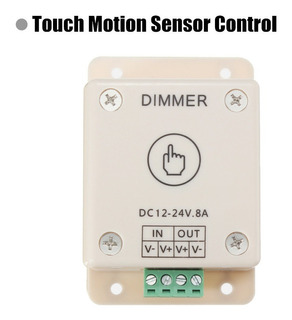 Regulable Led De Luz Dimmer Interruptor De Brillo Ajustable/