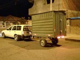 Vendo Carreta Remolque - Se Traslada A Lima
