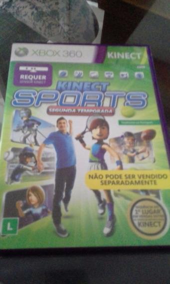 Kinect Sports 2° Temporada Xbox 360 Midia Física Original Pt