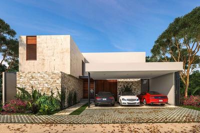 Residencia Nueva En Venta, Privada Astoria, Lote 17, Temozón, Mérida Norte