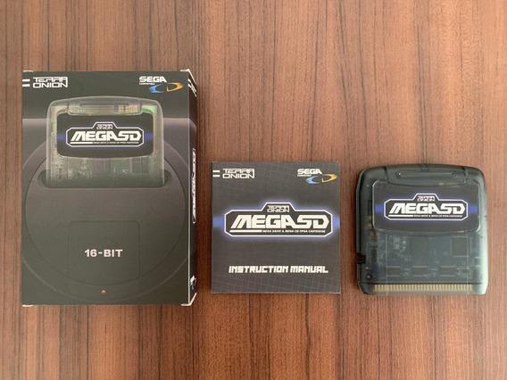 Mega Sd Everdrive Definitivo Para Mega Drive / Sega Cd / 32x