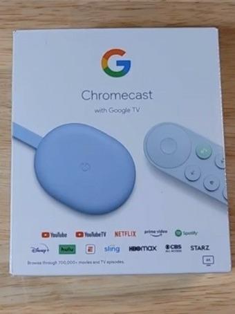 Chromecast Con Google Tv Android 4k Hdr