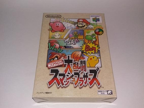 Super Smash Bros Original Para Nintendo 64 N64