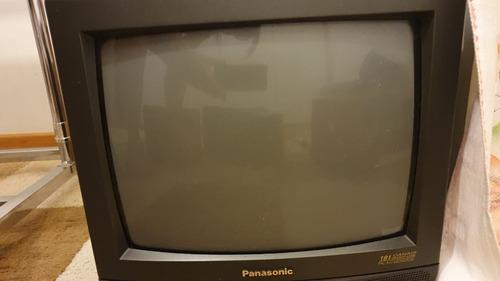 Tv Tubo Preta Panasonic 14  Polegadas Tc-14a7 (ler Anúncio)