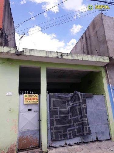 Casa Com 2 Dormitórios À Venda, 125 M² Por R$ 350.000,01 - Jardim São Gabriel - São Paulo/sp - Ca0321