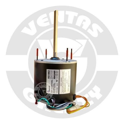 Motor Ventilador Condensador 1/2hp 1075rpm 220v Eje 1/2