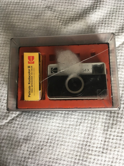 Cámara Fotográfica Kodak Antigua Instamatic 54x Argentina