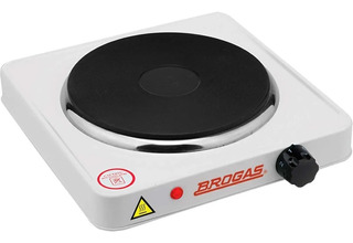Anafe Electrico 1 Hornalla Brogas An01 Bajo Consumo 1000w