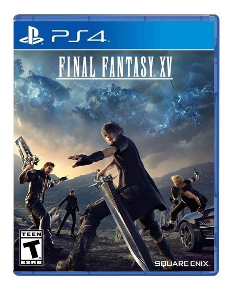 Jogo Game Final Fantasy Xv Lacrado Playstation 4 Ps4 Novo