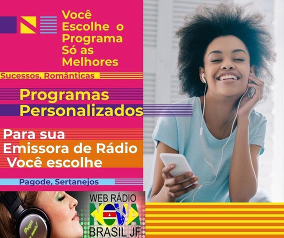 Pacote De 20 Programas Duração De Duas Horas Para Rádios