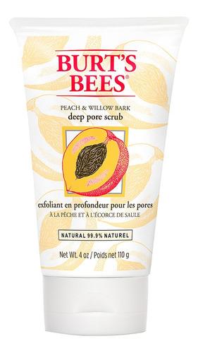 Exfoliante Facial Burt's Bees Durazno Y Sauce 114gr
