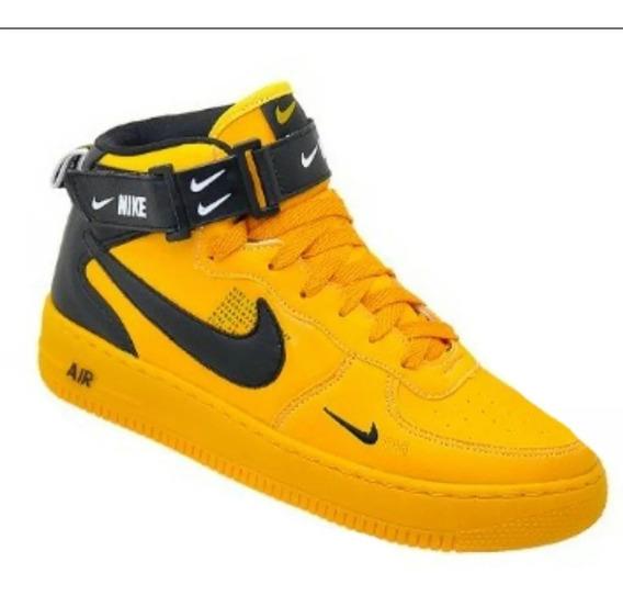 Tênis Bota Nike Air Force Tm Cano Alto Unissex Frete Grátis