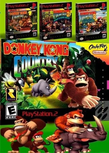 Donkey Kong Country Para Playstation 2