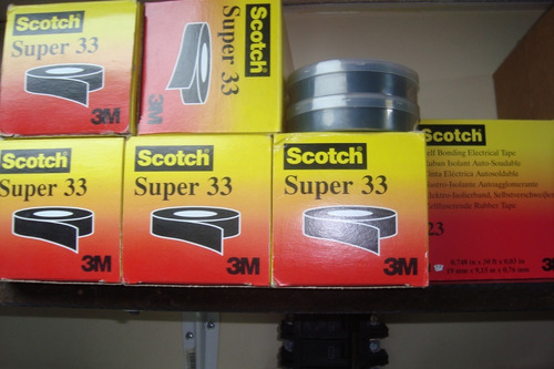 Teipe 3m Scotch 23  3/4 Original. '
