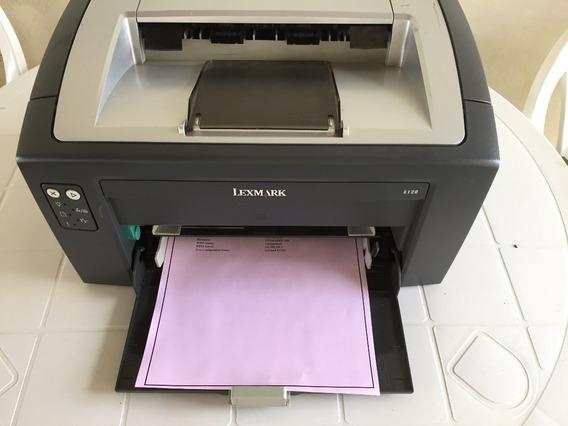 Impressora Lexmark E120n Semin Nova - Laser