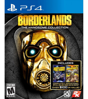 Borderlands Ps4 Handsome Collection Disponible