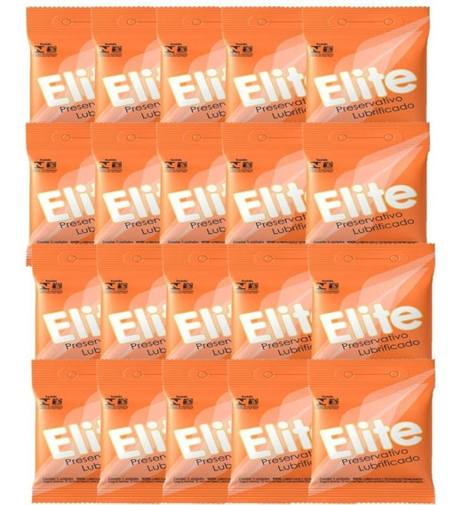Kit Com 60 Preservativo Elite C/ 3 Un Cada
