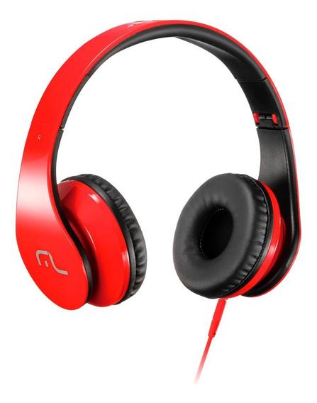 Fone De Ouvido Com Microfone P/ Celular Pc Multilaser Ph112
