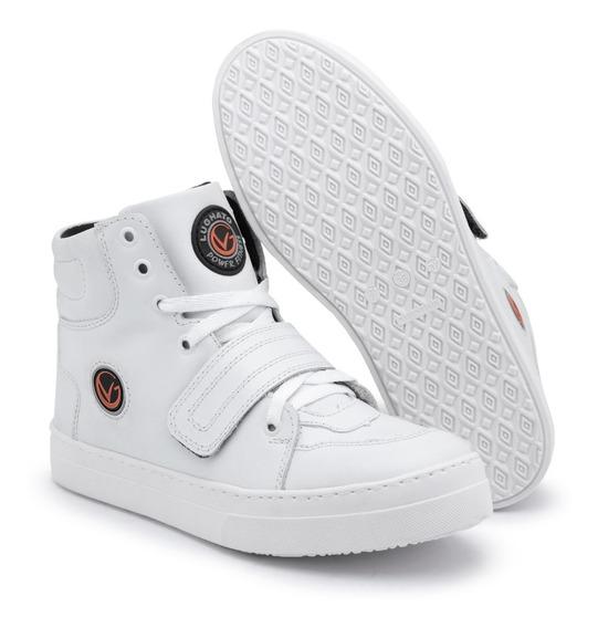 Bota Botinha Sneakers Tenis Academia Lughato V2 Fit Treinos