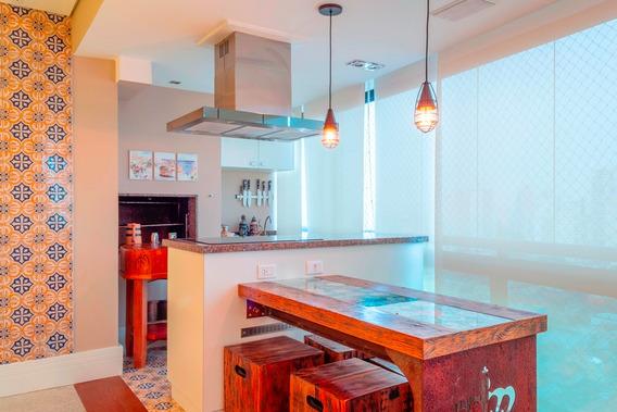 Apartamento Tatuapé Rua Itapeti - 171m² - Mobiliado