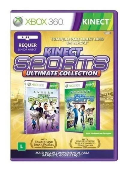 Jogos Kinect Sports Ultimate 2 Discos Xbox 360 Frete Grátis!