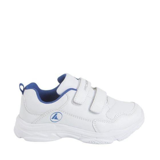Tenis Casual Blanco Con Azul Ligero Prokennex 032h Ur 185939