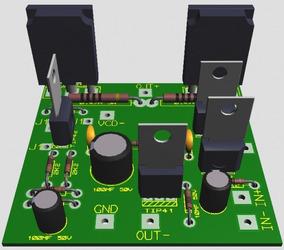 Projeto Para Amplificador Mono De 150w Arquivos Em Pdf