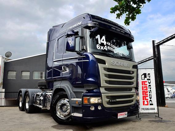 Scania R440 6x4 Highline Stream Line Volvo Fh 440 420 460 Nh