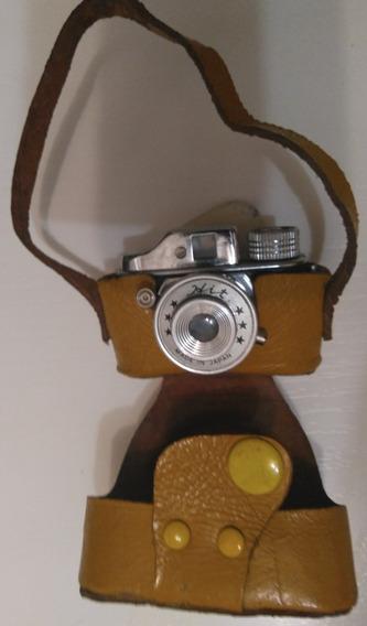 Raridade...mini Máquina Fotográfica Da Década De 50