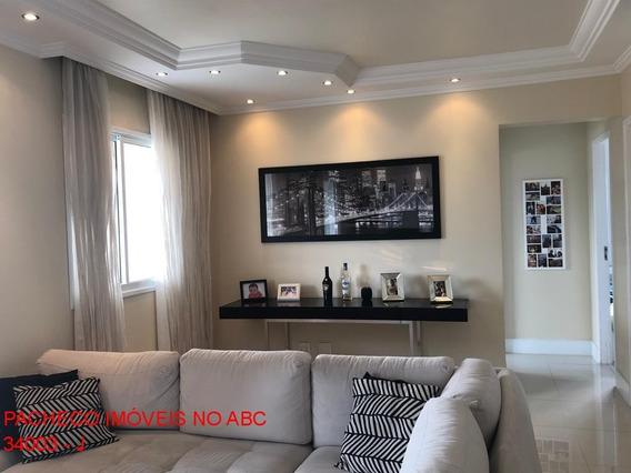 Apartamento 80m 1 Vaga 2 Dormitórios Sendo Um Suíte Mobiliado Com Móveis Planejados Arcadia Centro De São Bernardo Campo - Ap03361 - 34727113