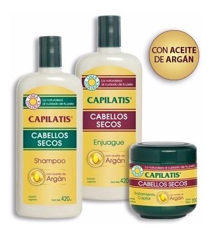 Aceite De Argán Capilatis Set Sh Aco Tratamiento