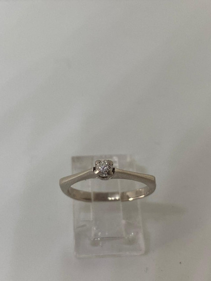 Anillo Solitario De Diamante Genuino De 15 Puntos