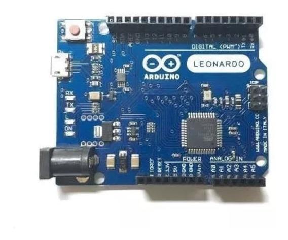 5x Arduino Leonardo R3 Sem Cabo Usb