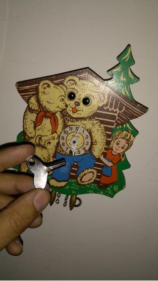 Reloj De Pared Estilo Cuco Alemán De Cuerda