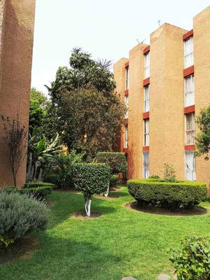 Venta Depto 2 Rec Condominio Con Jardines Ex Hacienda Coapa