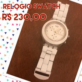 Relógio Swatch Feminino Branco
