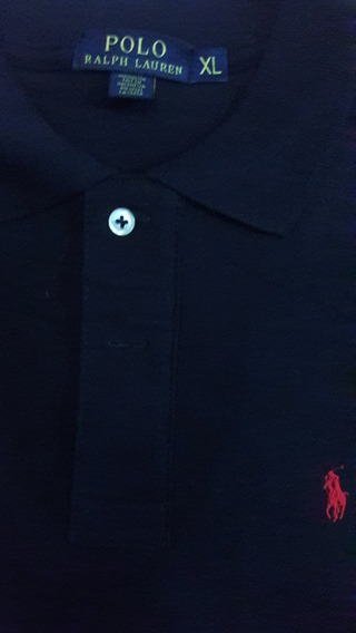Chombas Polo Ralph Lauren Pique Corte Custom Fit Entalladas