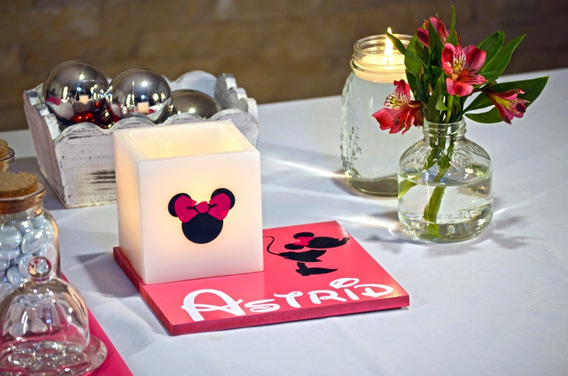 Centro De Mesa De Minnie Mouse Fiusha Aluzza