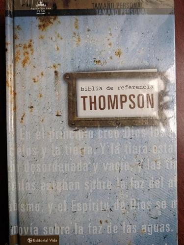 Imagen 1 de 2 de Biblia De Estudio Thompson Completa Tamaño Manual