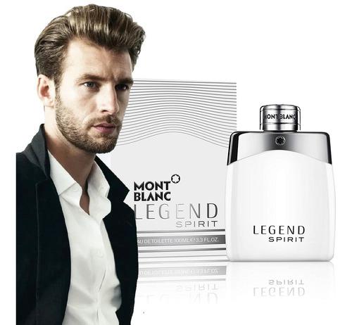 Perfume Legend Spirit Montblanc 100ml - mL a $1520