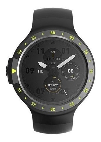 Reloj Smartwatch Mobvoi Ticwatch S Deportivo Negro